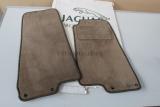 Original Jaguar X350 XJ Fussmatten BRAUN Satz Tailored Carpets C2C37086LNC