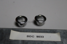 2x Jaguar XJ Series XJ12 Blende Tür Pin Chrome Bezel Door Lock BDC9033