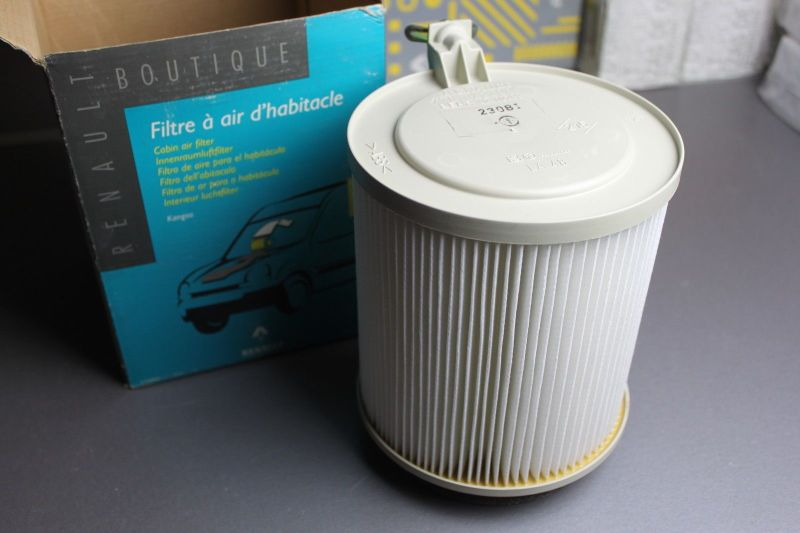Original Renault Kangoo 1,5 dCi Innenraumfilter Interieur Filter ...
