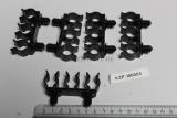 5x Jaguar XJ40 XJ6 Kabel Halter Stossstange 3-way Harness Clip KZP100003