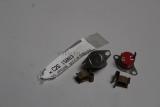 2x Jaguar X Type Klammer Anschluss Batterie Battery tube Edge Clip C2S15893