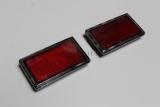 gebraucht- Jaguar XJS Reflektor Set LINKS+RECHTS RH LH Reflex Lamp Set Red