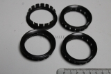 4x Jaguar XJS XJ40 XJ6 Ring Nabendeckel Wheel Hub Badge Retainer CAC6442