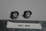 2x Jaguar XJ Series XJ12 Blende Tür Pin Chrome Bezel Door Lock BDC9033
