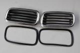 gebraucht - 2x BMW E24 6er Nieren Links Rechts Kühlergrill Radiator Grille