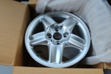 1x Opel Calibra Vectra B 5-Speichen Alufelge 6x15 Alloy Wheel 90497026