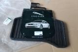 2x Original Jaguar X Type Gummi Fussmatten REAR Rubber Mats C2S38987